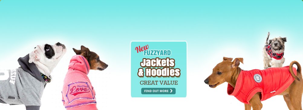 NEW Fuzzyard hoodies & jackets - GREAT VALUE!