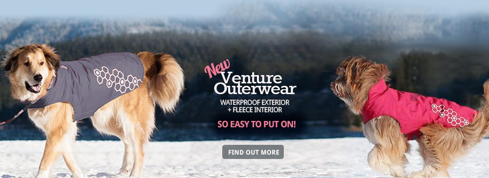 New Venture Outerwear is Waterproof, Cozy, and so easy to put on!