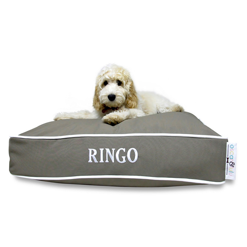 Oscar & Lulu Bailey Beds are indoor/outdoor dog beds made and ...